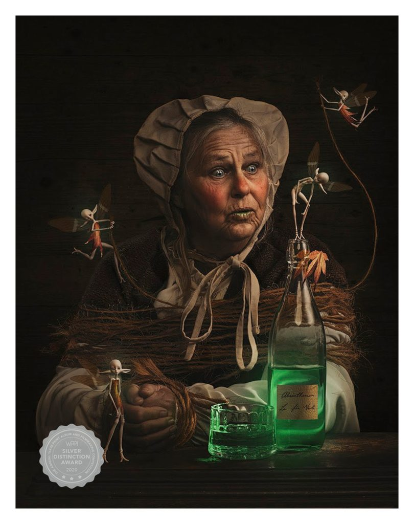 Richard Wood BIO WPPI Award Winning Image Green Fairy part 2 with medal