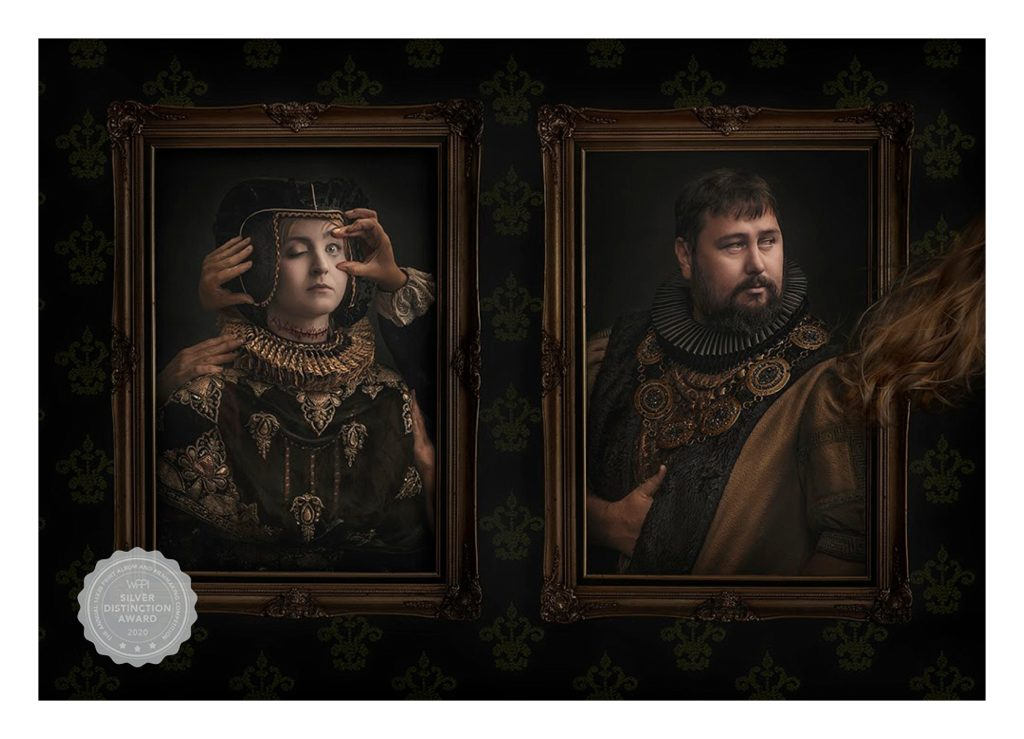 Richard Wood BIO WPPI Award Winning Image henry and anne part3 with medal
